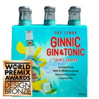Ginnic Dry Lemon 6-Pack