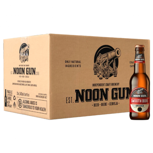 Smooth Bore Lager (24x340ml Case)